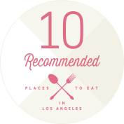 10 Recommended in LOS ANGELES