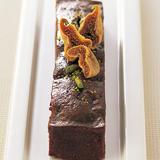 いちじくとピスタチオのチョコレートケーキ