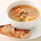 田舎風野菜スープ