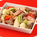 豚肉とかぶのオーブン焼き