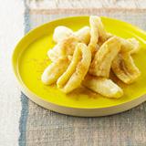 揚げバナナのシナモン風味