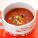 生姜のホットとまとスープ