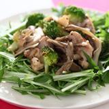 蒸し鶏と温野菜のヘルシーサラダ