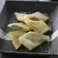 キノコとバジルのチーズ焼き