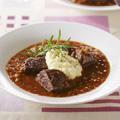 ピエモンテ風牛肉の赤ワイン煮込み