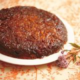 玉ねぎのアップサイドダウンスパイスケーキ