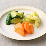 いろどり野菜の即席味噌漬け