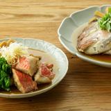 金目鯛・たけのこ・ごぼうの煮物& 鯛のかぶと煮