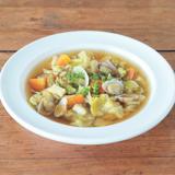 あさりと野菜のカレー風味デトックススープ