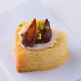 Finger Dish Sweets-マロンペーストに栗のトッピング