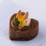 Finger Dish Sweets-チョコレートオレンジムースにナッツ