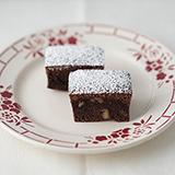 チョコとくるみのバターケーキ