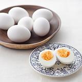 蒸しゆで卵