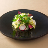 彩り野菜のインサラータ グレープフルーツドレッシング