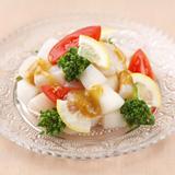 春野菜とホタテのサラダ