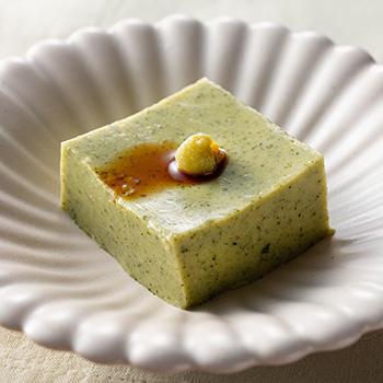 お茶の簡単ごま豆腐