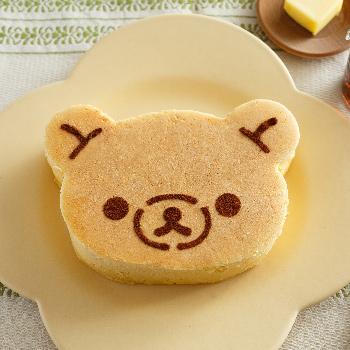 リラックマの厚焼きパンケーキ