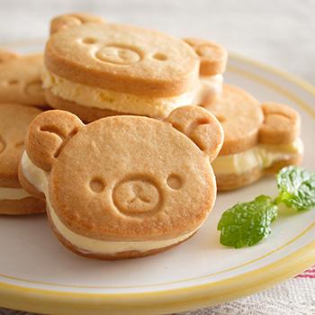 リラックマ クッキーサンドアイス