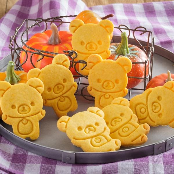 コリラックマのかぼちゃクッキー
