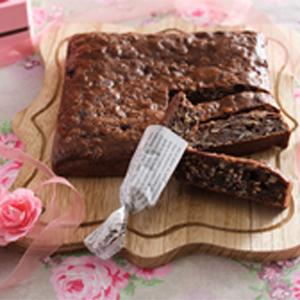 チョコバナナオートミールケーキ