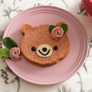 バレンタインのピンクマ