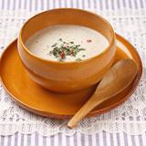 ごぼうと里芋のクリームスープ