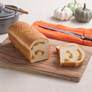 かぼちゃのうずまきパン