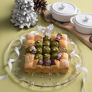 クリスマスちぎりパン