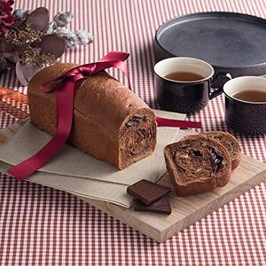 チョコレートナッツパン