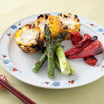 麺つゆ焼き野菜