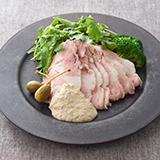 豚肩肉のロースハム トンナートソース