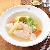 鶏ムネ肉と野菜のポトフ仕立て